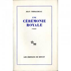couverture Jean Thibaudeau, Une cérémonie royale