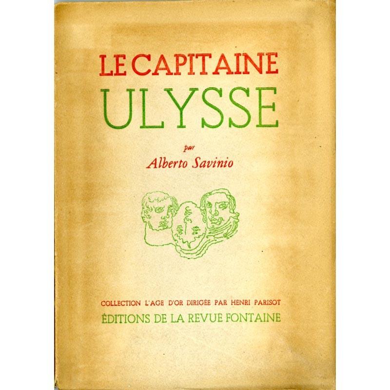 couverture Alberto Savinio, Le Capitaine Ulysse