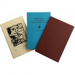 le tirage de tête du livre de Philippe Delaveau, et l'eau-forte de Pierre Alechinsky,