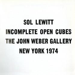 LeWitt, Incomplete open cubes, 1974