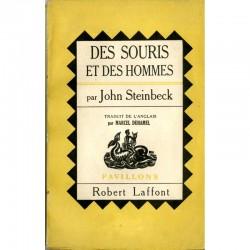 couverture John Steinbeck, Des souris et des hommes