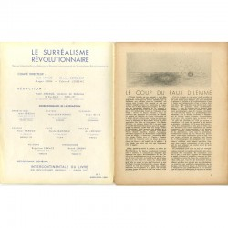 double page Le Surréalisme Révolutionnaire