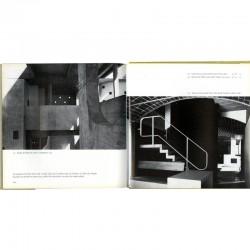 """Double page de """"Le Corbusier"""" avec les photographies de Lucien Hervé"""