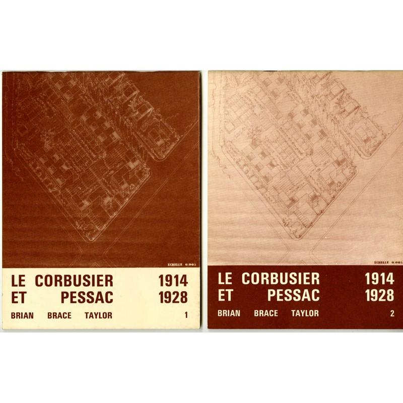 Les deux volumes de Le Corbusier et Pessac, 1914-1928