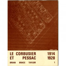 Le volume 1 de Le Corbusier et Pessac, 1914-1928