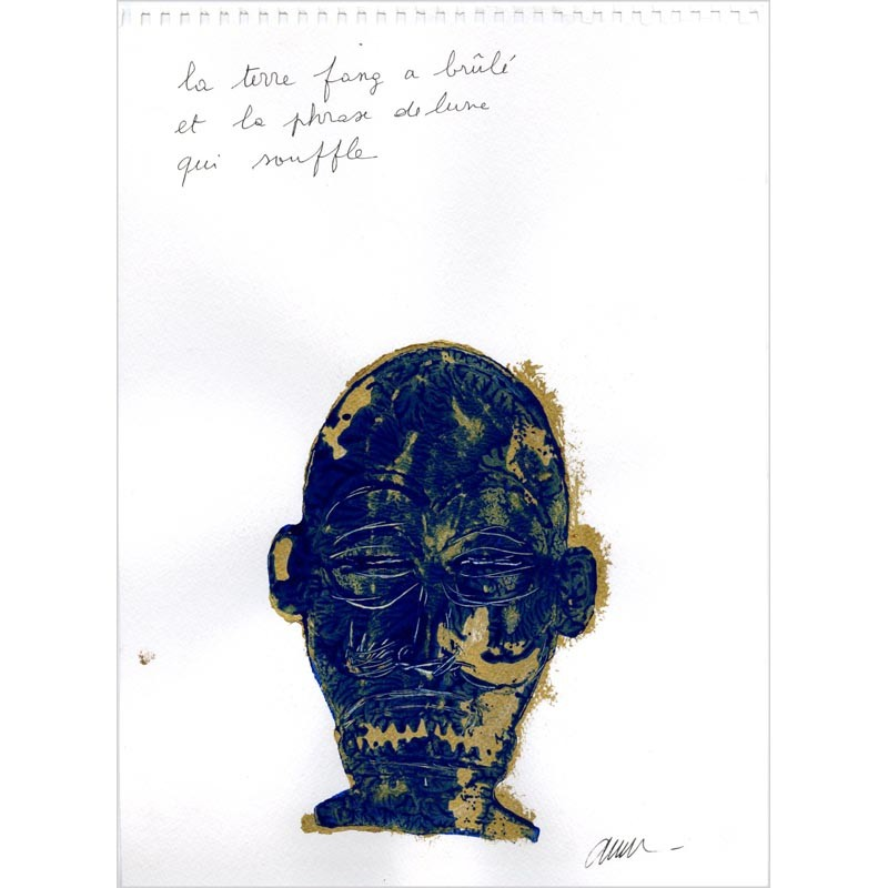 lithographie Arman, Afrikan matricule