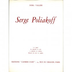 couverture Serge Poliakoff, Dora Vallier