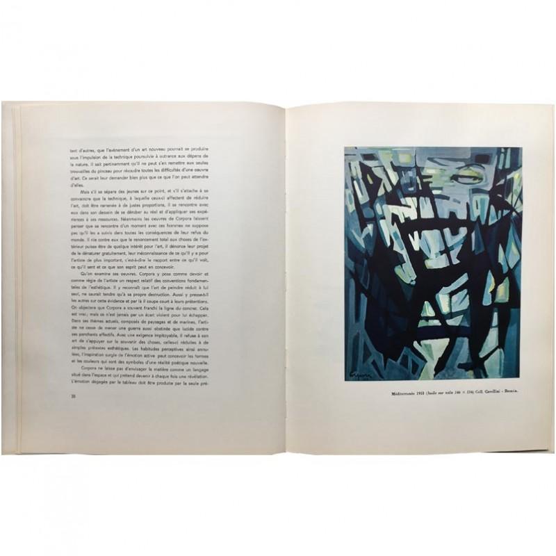 double page Antonio Corpora Christian Zervos