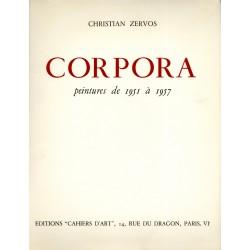 couverture Antonio Corpora Christian Zervos