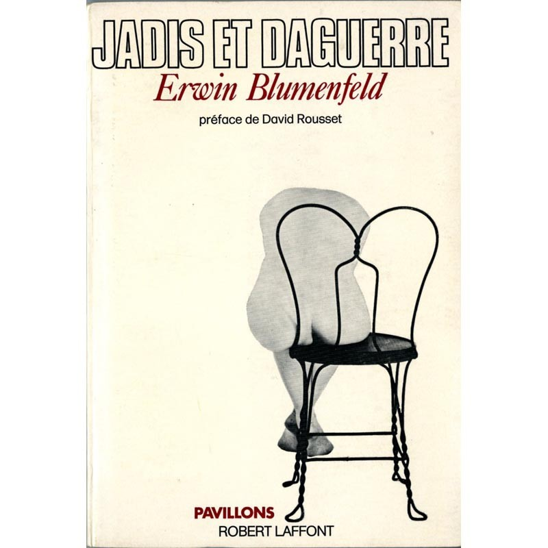 Couverture de l'autobiographie d'Erwin Blumenfeld, Jadis et Daguerre
