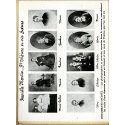 """Document photographique inédit en frontispice du livre de Pierre Mabille """"Thérèse de Lisieux"""""""