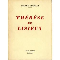 """Couverture du livre de Pierre Mabille """"Thérèse de Lisieux"""""""