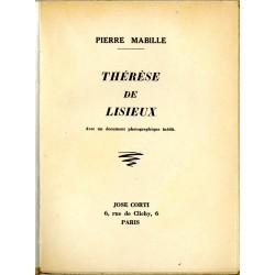 """Page de titre du livre de Pierre Mabille """"Thérèse de Lisieux"""""""