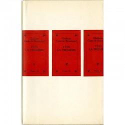"""Couverture du livre """"Tête la première"""" de Ghislaine Costa de Beauregard"""
