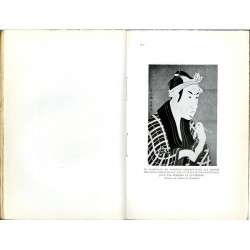 """une des illustrations du livre """"Chefs-d'œuvre de Tchikamatsou- le grand dramaturge japonais"""""""