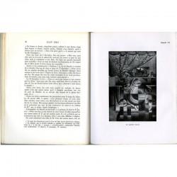 une double page de Daniel-Henry Kahnweiler, Juan Gris, sa vie, son œuvre, ses écrits