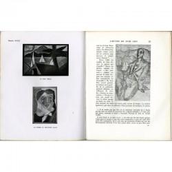 intérieur du livre de Daniel-Henry Kahnweiler, Juan Gris, sa vie, son œuvre, ses écrits