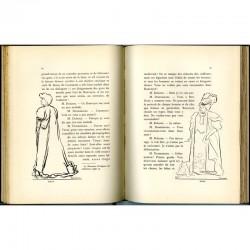 """Double page du livre """"André Rouveyre"""" par Louis Thomas"""