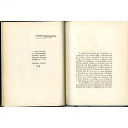 """Justificatif du tirage du livre """"André Rouveyre"""" par Louis Thomas"""