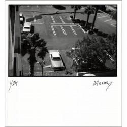 Tirage de tête du livre édité à l'occasion de l'exposition de Jacques Monory