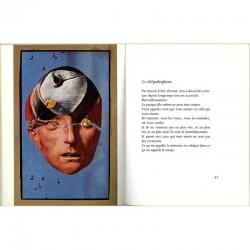 """poème et collage de Jacques Prévert """"Imaginaires"""", Les sentiers de la création n°9, Skira"""