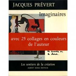 """bandeau de Jacques Prévert """"Imaginaires"""", Les sentiers de la création n°9, Skira"""