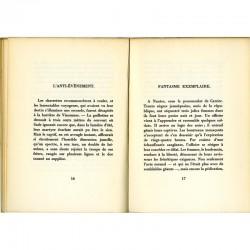 """Poèmes de """"L'épouse infidèle"""", de Gilbert Lely, 1966"""