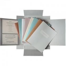 """vue des documents réunis pour le livre d'artiste de Christian Boltanski """"La maison manquante"""""""