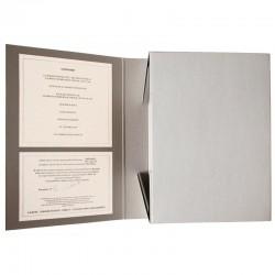 """La boite archive du livre d'artiste de Christian Boltanski """"La maison manquante"""""""