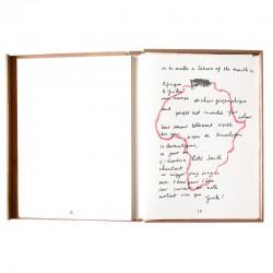 """Poème de Joseph Guglielmi, Lithographie d'Arma  dans """"Afrikan matricule"""""""