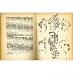 """Différentes figures du livre d'Henri Lavachery """"Statuaires de l'Afrique noire"""""""