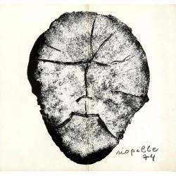 Carton d'invitation pour une exposition de Jean-Paul Riopelle à la galerie Maeght, 1974