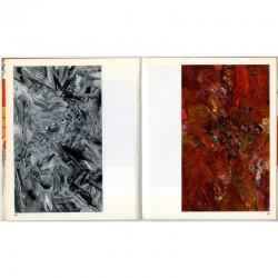 intérieur du catalogue de Chafik Abboud  à la galerie Raymonde Cazenave