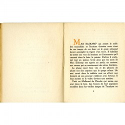 Préface de Norge pour le livre de Max Elskamp, Six chansons de pauvre homme, suivies de Huit chansons reverdies