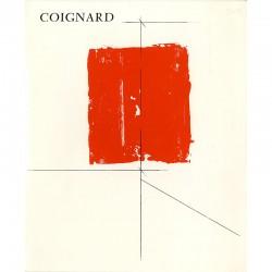 couverture de la plaquette consacrée à James Coignard par la galerie Pasnic