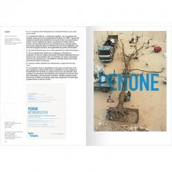 """intérieur du """"catalogue raisonné des cartons d'invitation"""" de Giuseppe Penone"""