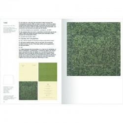 Double page du livre de Giuseppe Penone
