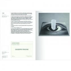 double page du livre de Giuseppe Penone et Michel Nuridsany