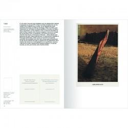 """""""Catalogue raisonné des cartons d'invitation des expositions personnelles"""" de Giuseppe Penone"""