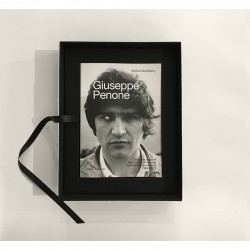Le livre de Giuseppe Penone dans son coffret