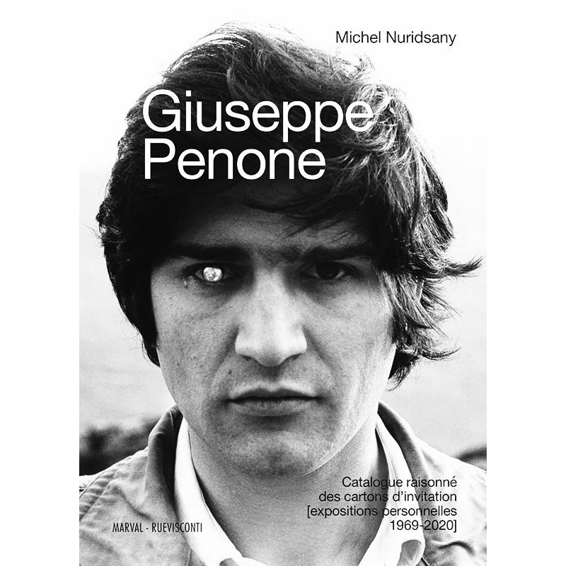 Couverture du catalogue raisonné de Giuseppe Penone
