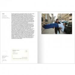 double page intérieure du catalogue raisonné des cartons d'invitation d'Adel Abdessemed