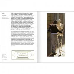 Adel Abdessemed : une double page intérieure de son catalogue raisonné