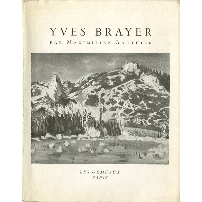 Couverture du livre sur Yves Brayer par Maximilien Gauthier