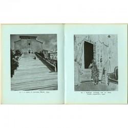 Reproduction d'oeuvres sur une double page du livre sur Yves Brayer