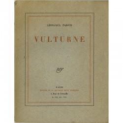 """Couverture du livre de Léon-Paul Fargue """"Vulturne"""" 1928"""