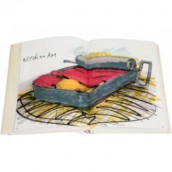 un des 218 dessins reproduits, chacun accompagnés d'un commentaire de Franck Scurti
