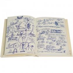 Une double page intérieure du livre de Franck Scurti