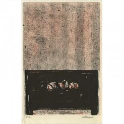 lithographie de Doroteo Arnaiz, épreuve d'artiste signée au crayon