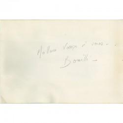 message de Christian Bouillé pour ses vœux de 1996 adressé à Raoul Jean Moulin